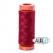 Aurifil 50 Cotton Thread - 2260 (Red Wine)